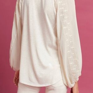 Anthropologie Maud Victorian Blouse